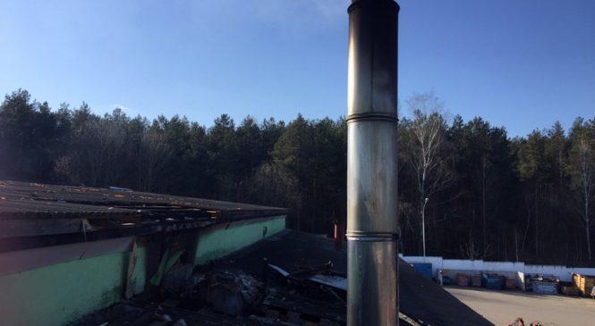 Сажа в дымоходе снова стала причиной пожара в районе. На этот раз в ОАО «Ружаны-Агро»