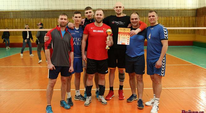 В районном турнире по волейболу памяти А.А. Салтруковича победило «Образование»
