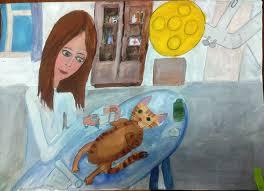 Нарисуй ветеринара и получи игрушку для своего питомца!