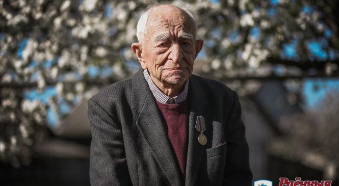 Ветерану Великой Отечественной войны Николаю Ляхоцкому 7 мая исполнилось 100 лет! С юбилеем и с Победой!