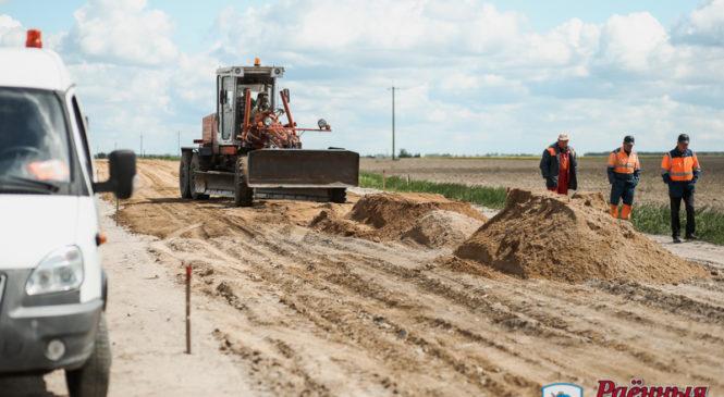 Начался ремонт дороги между Муравой и Чепелями