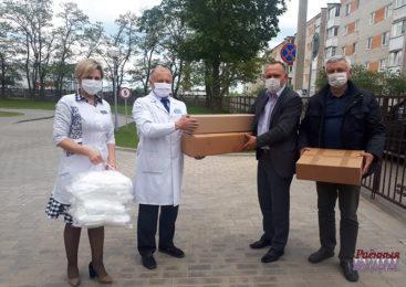 Пружанские медики снова благодарят всех, кто оказывает им помощь