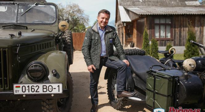 Андрей Янушкевич: «Сомневаетесь в скоростных возможностях  ретроавтомобиля? Прокачу с ветерком!»