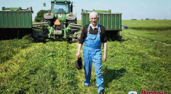 Уборка травы первого покоса в ОАО «Агро-Колядичи» выходит на финишную прямую!