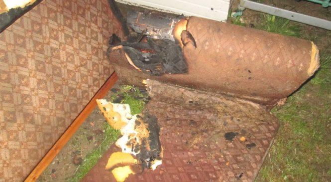 Кто виноват: растопивший печь или передвинувший диван? В Шубичах устанавливается причина пожара