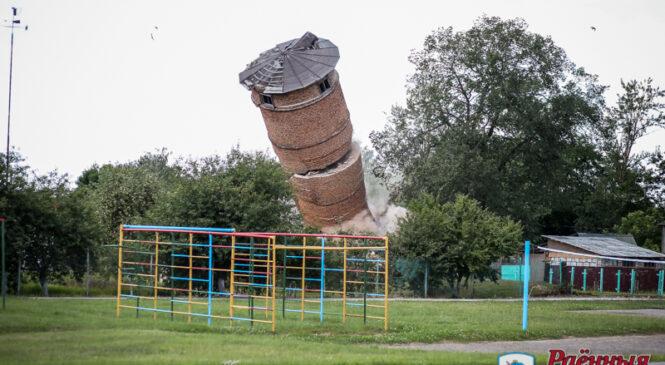 Кто и зачем взорвал старую башню?