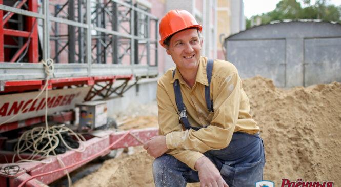 В воскресенье строители отметят свой профессиональный праздник