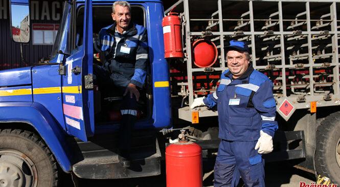 Фотарэпартаж да Дня работнікаў нафтавай, газавай і паліўнай  прамысловасці
