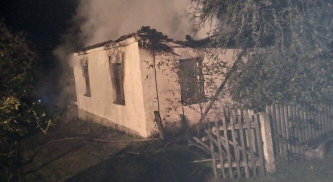 Сегодня ночью в Кулянах на пожаре погибло два человека