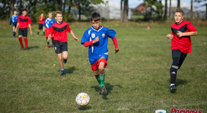 «Скураны мяч» пакарыўся футбалістам з Драгічына
