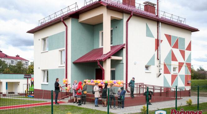 У Пружанах адкрыўся яшчэ адзін дзіцячы дом сямейнага тыпу