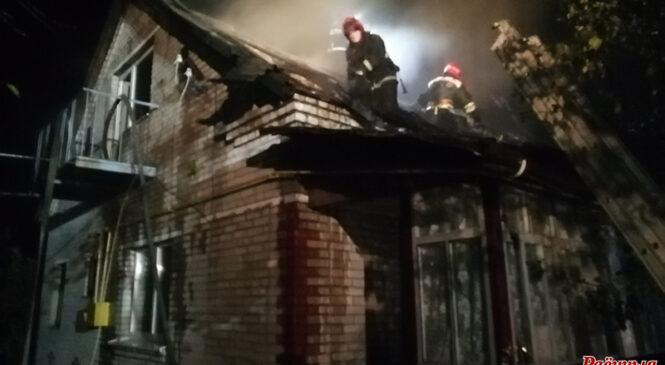 Ночью в Пружанах произошел пожар в жилом доме