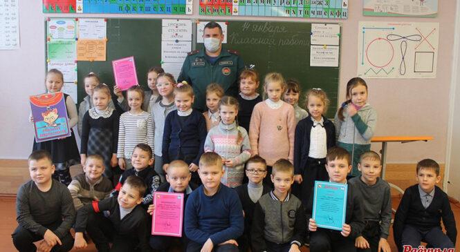 Падведзены вынікі раённага конкурсу «Навагодні дызайн МНС»