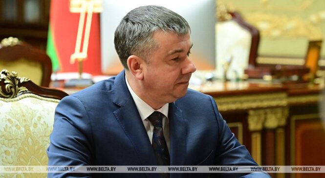 Новый губернатор Брестской области Юрий Шулейко о приоритетах в работе: в первую очередь люди и развитие региона