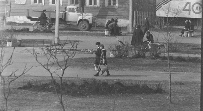 Гісторыя з фатаграфіяй. Сцэнка з гарадскога жыцця (1985 год)