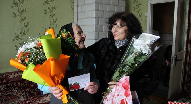 Жыхарка Шарашэва Вера Юльянаўна Рабчук адзначыла 100-гадовы юбілей! Віншуем!