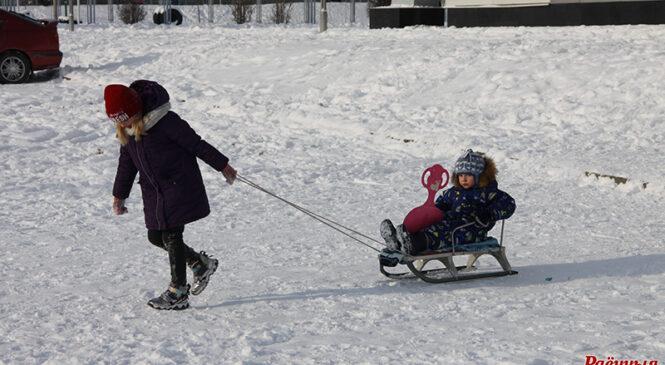 «Ларс» прынёс у Пружанскі раён шмат снегу, але да рэкорду  2003 года пакуль далёка
