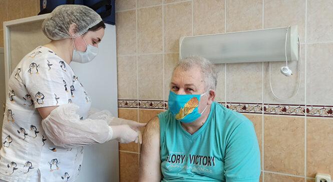 У Пружанскім раёне пачалася вакцынацыя ад COVID-19