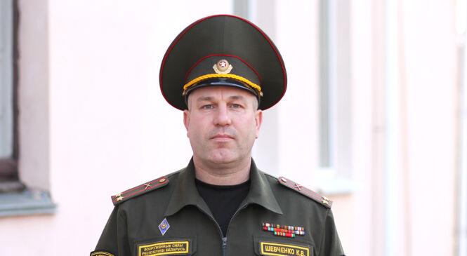Ваенным камісарам Пружанскага раёна назначаны падпалкоўнік Кірыл Шаўчэнка