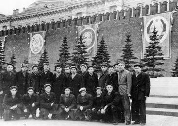 Гісторыя з фатаграфіяй. Красавік 1961-га, г.Масква