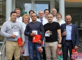 14 чэрвеня пяць жыхароў раёна атрымала  знак «Ганаровы донар Рэспублікі Беларусь»