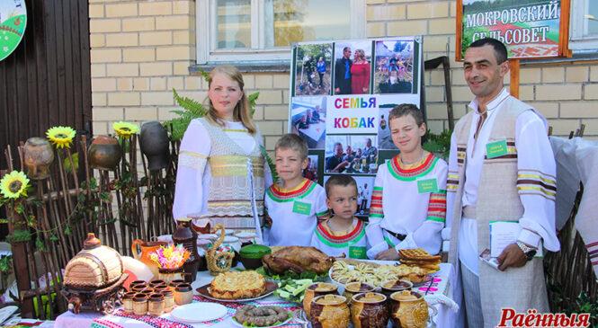 На раённым этапе конкурсу «Уладар сяла» перамагла сям'я Дзмітрыя і Юлія Кобакаў з аг. Клепачы