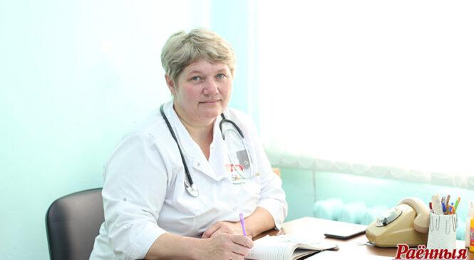 Дваццаць гадоў у Слабудцы лечыць людзей Тамара Валкавыцкая