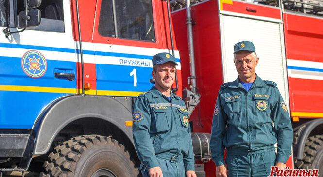 Да Дня пажарнай службы: бацька і сын Бармуты