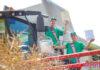 Першым «тысячнікам» у вобласці сярод маладзёжных экіпажаў стаў экіпаж ААТ «Велікасельскім Агра»
