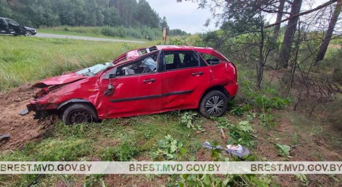 В результате ДТП в Пружанском районе погибла 70-летняя пассажирка