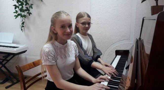 Фартэпіянны дуэт Навазасімавіцкай ДШМ  атрымаў перамогу на міжнародным конкурсе «LETOSTAR in Slovenia-2021»
