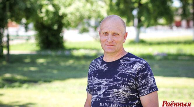 Людзі працы: аператар свінакомплексу ААТ «Ружаны-Агра» Сяргей Пятровіч Смаль
